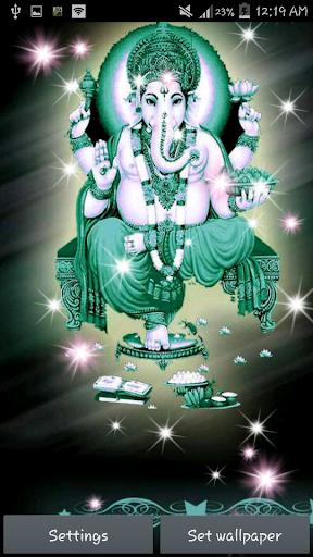 【免費個人化App】Lord Ganesha Live Wallpaper-APP點子