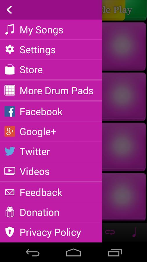 Electro Drum Pads- screenshot