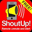ShoutUp! Lite unmute & alert icon