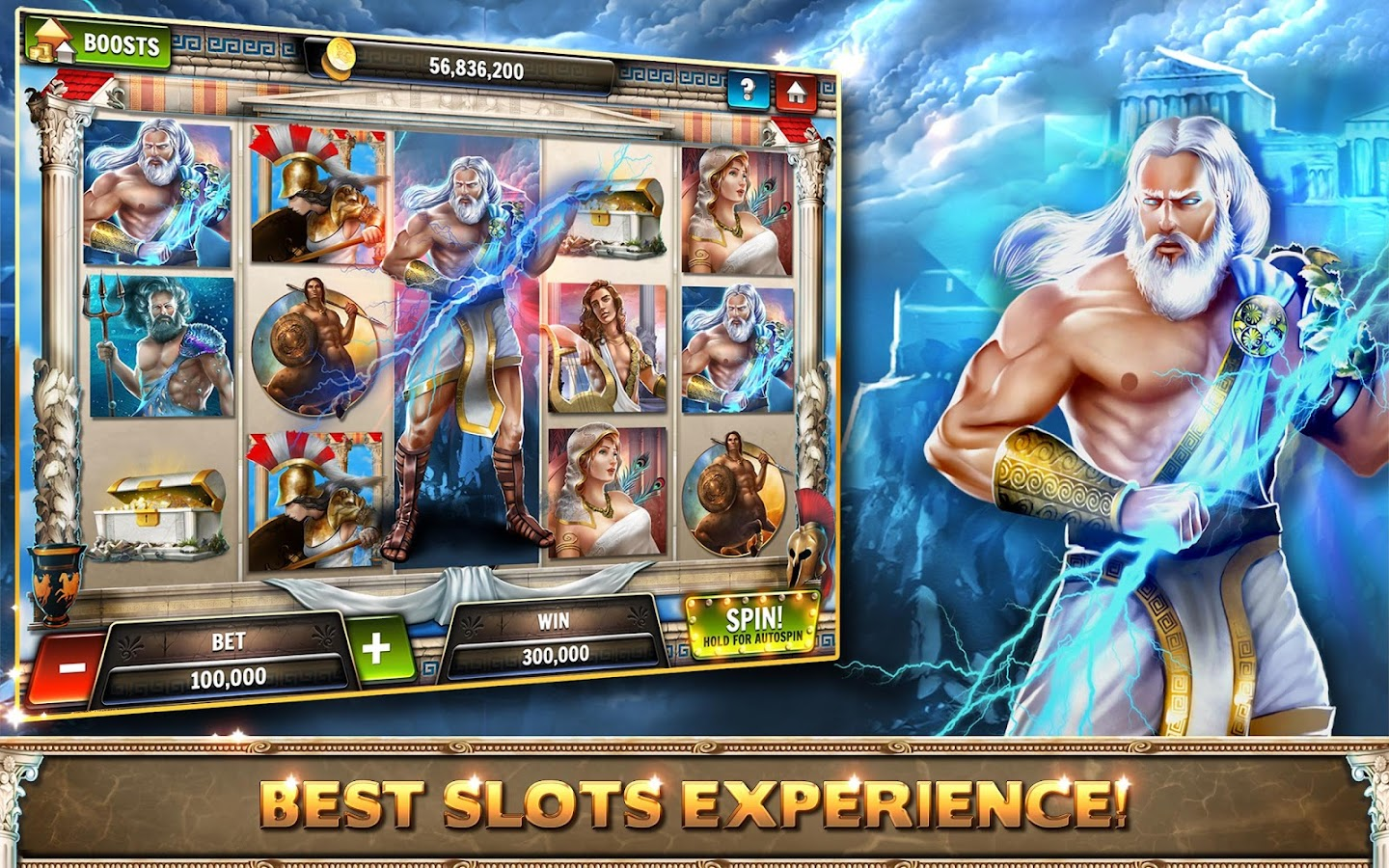 PLAY Zeus FOR REAL MONEY AT: