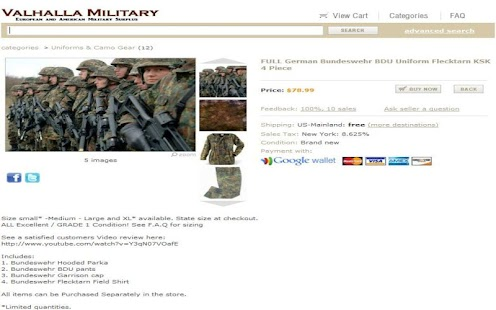 Valhalla Military Surplus- screenshot thumbnail