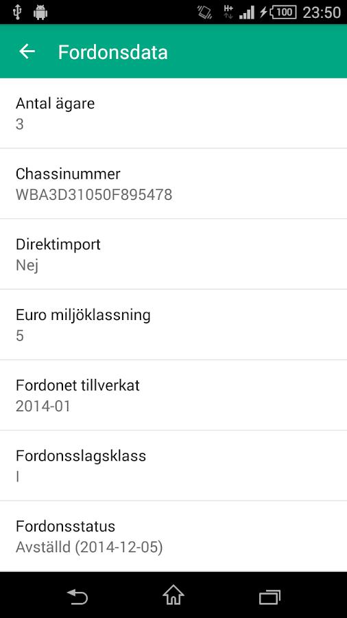 REG – Kolla Regnumret- screenshot