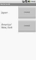 Screenshot of DUAL DIGIT WORLD CLOCK WIDGET
