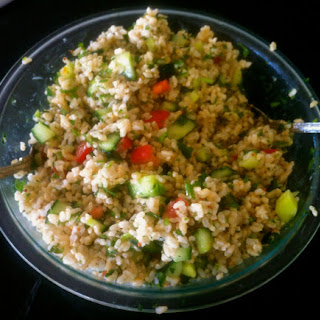 Tabouleh Brown Rice Salad Recipe