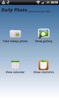 Screenshot of Daily Photo - photo diary