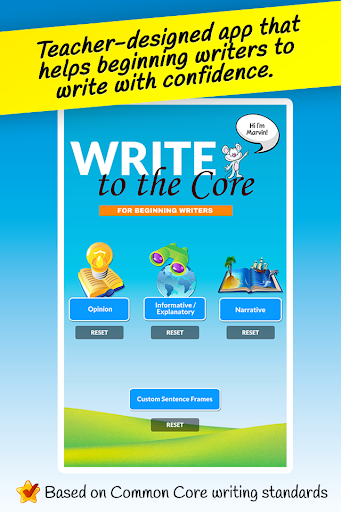 Write Core: 1st Grade Writing
