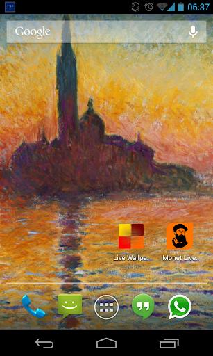 Monet Live Wallpaper