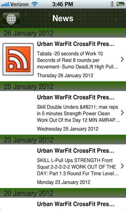 Urban Warfit CrossFit - screenshot