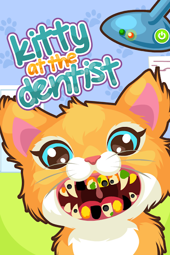 Kitty at the Dentist Girl Game
