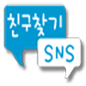 SNS making friends logo