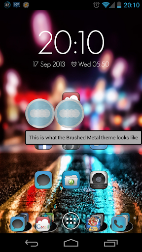 Brushed Metal - FN Theme