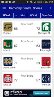 college gameday app ncaa football scores bowl games