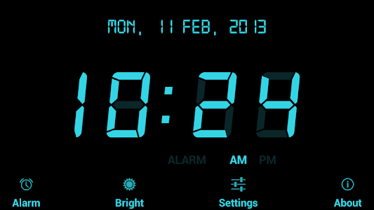 Digital Alarm Clock Free v12.0