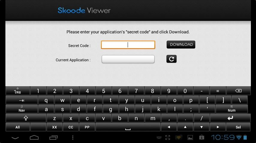 Skoode Viewer OTPC - screenshot