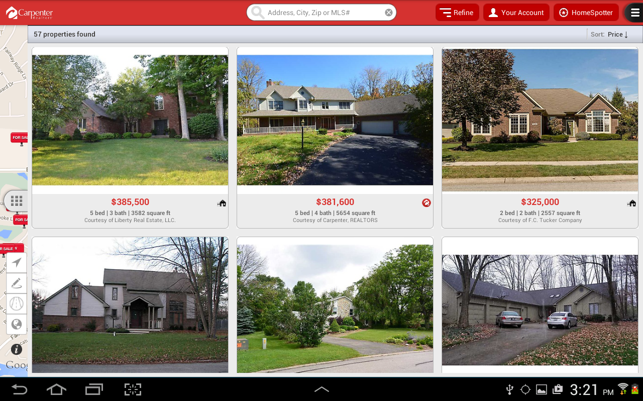 Carpenter Realty Homes For Sale Bedford Indiana