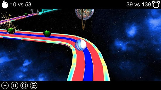Apple Run 3D Space - screenshot thumbnail