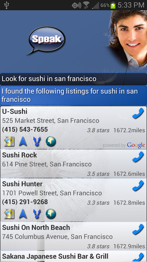 EVAN - (Siri for Android) - screenshot