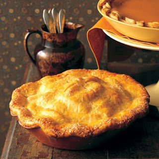 Old-Fashioned Apple Pie.