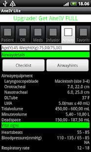 AneIV Lite - Anesthesia Aid - screenshot thumbnail