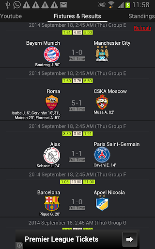 My Champions League Live
