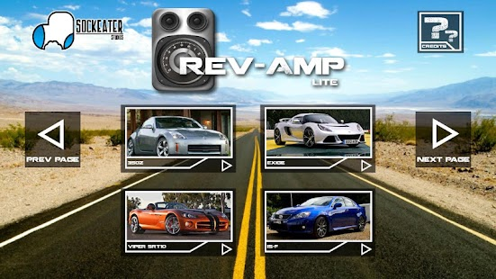 Rev-Amp: Car Sounds Lite - screenshot thumbnail