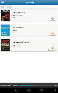 Lektz eBook Reader - screenshot thumbnail