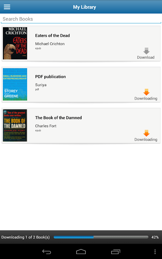 Lektz eBook Reader - screenshot