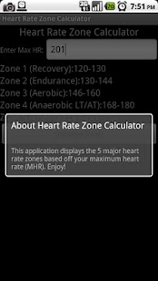 Heart Rate Zone Calculator - screenshot thumbnail