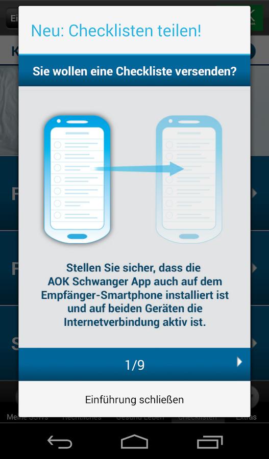 AOK Schwanger - screenshot
