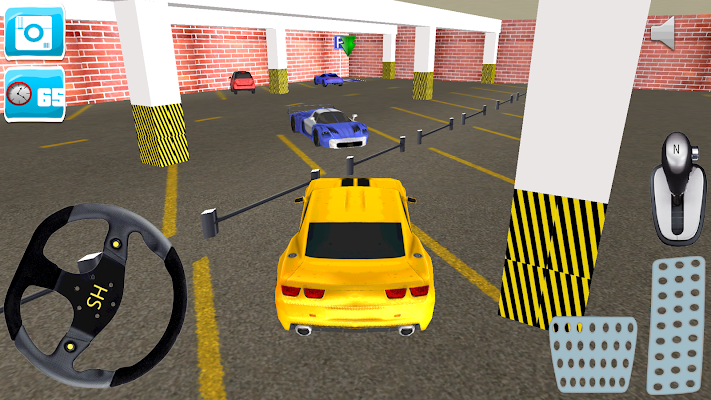 Racing Car Parking 3D - screenshot