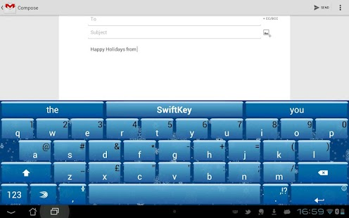 SwiftKey Tablet (Legacy) - screenshot thumbnail