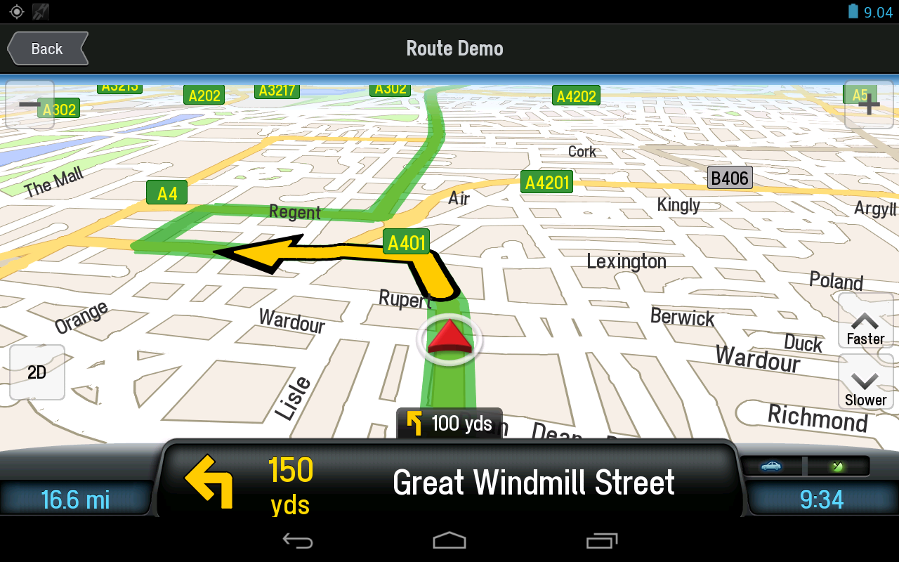 CoPilot Premium Europe Sat Nav - screenshot