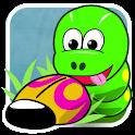 Camille la Chenille (Snake) logo