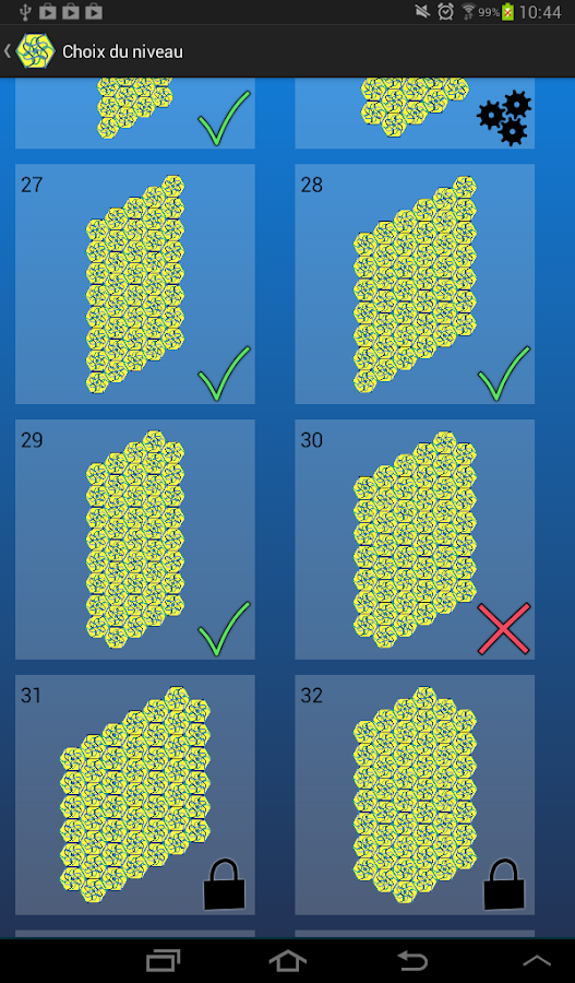 Swap it ! (Solitaire puzzle)- screenshot