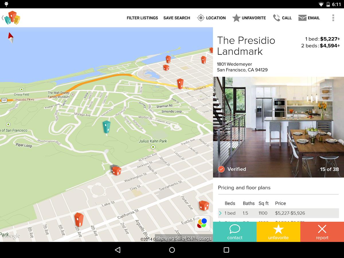 HotPads Apartments & Rentals- screenshot