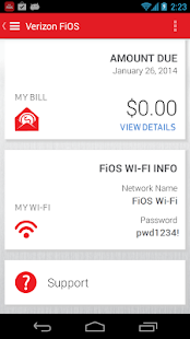 Verizon My FiOS - screenshot thumbnail