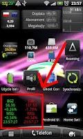 Screenshot of Akcje Widget Beta