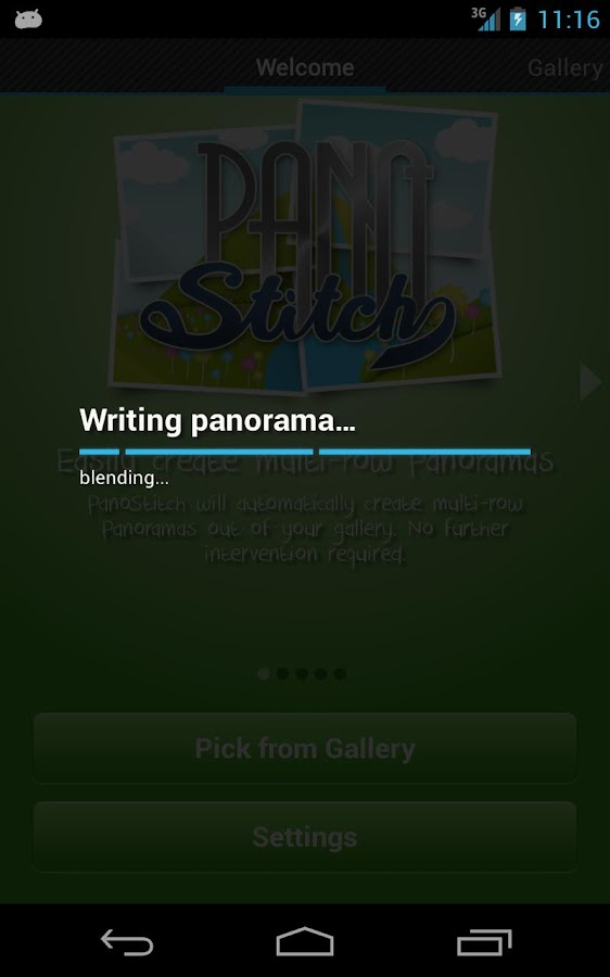 PanoStitch Panorama Picture HD- screenshot