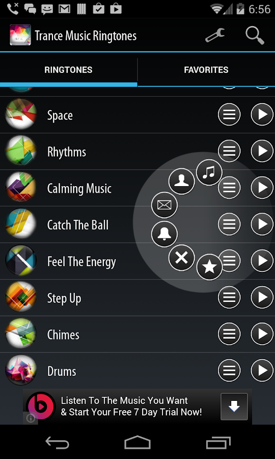 how to use play music as ringtone