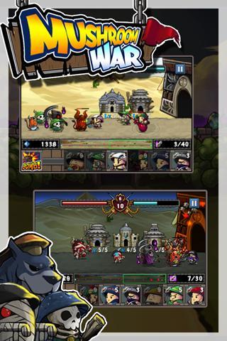 Mushroom War– скриншот