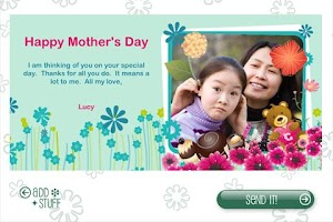 Screenshot of Build-a-Card: Mothers Edition