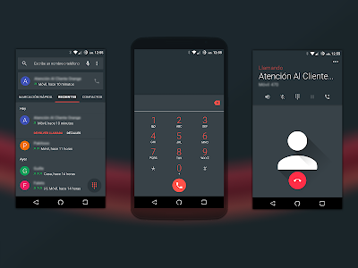 materiaL RED (CM12 THEME) v1.6