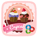 Cupcakes GO Launcher Theme icon