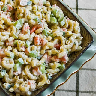 Shrimp and Macaroni Salad.