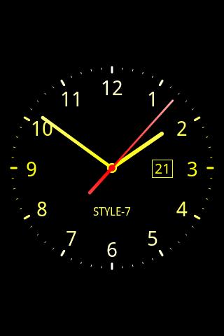 Download Analog Clock Live Wallpaper-7 Google Play ...