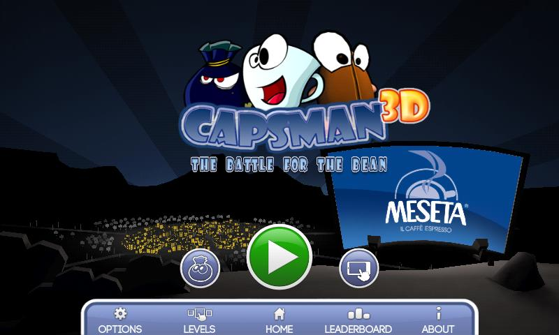 Capsman 3D - screenshot