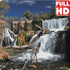 Waterfall Live Wallpaper HD icon