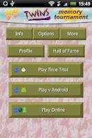 Screenshot of Twins Memory Tournament