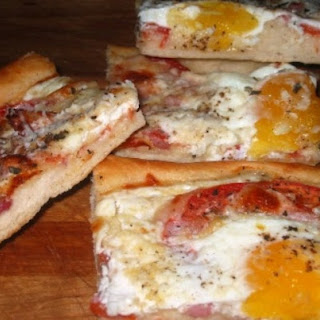 Pizza Pie Sunny Side Up