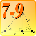 Geometry 7-9. Reference. icon